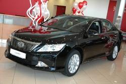 Toyota Camry – самая популярная модель марки в Иркутске. Также седан является первым среди моделей бизнес-класса
