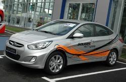 Hyundai Solaris возглавил рейтинг самых продаваемых моделей в  Иркутске (939 штук)