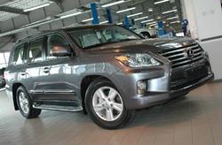 Lexus LX 570 стал главным фигурантом покупательских интересов к марке (продан 51 внедорожник)