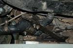 Имплантация подвески потребовала изготовления дополнительных элементов. А в этом месте еще и сочетания с топливными магистралями