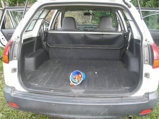 Ниссан ад багажник своими руками