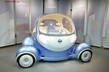 Автосалон в Токио | Руль заменен штурвалом, приборный щиток — информационным дисплеем, а вместо боковых зеркал заднего вида —?видеокамеры?и экраны мониторов