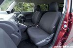 Похоже, что передние кресла страдают недостаточной боковой поддержкой | Toyota Corolla Rumion