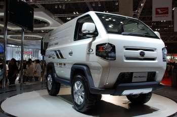 Автосалон в Токио   Неизвестно, ожидает ли популярность Daihatsu Mud Master-C на родине, но в России ему точно гарантирован ажиотажный спрос