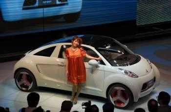 Автосалон в Токио   Концепт MMC MiEV Sport, по уверениям создателей, призван навсегда изменить представление о компактных электромобилях