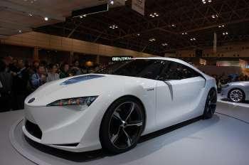 Автосалон в Токио   С момента ухода «Супры» этот концептуальный спорткар Toyota FT-HS стал наиболее реальным претендентом на возвращение «быстрых» автомобилей этой марки на городские улицы