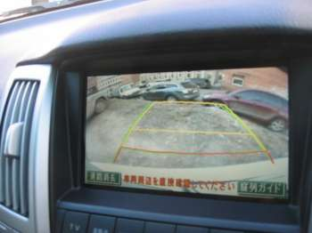 Toyota Harrier | Камера заднего обзора весьма полезная штука при маневрировании задним ходом