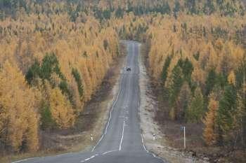 о.Ольхон   Осенняя дорога Баяндай – Еланцы.