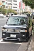 И в высокоразвитой Японии можно встретить любопытные образчики так называемого «ара-тюнинга». Такие, как эта Mobilio Spike, увешанная нелепыми медальонами и шильдиками «Acura 3.2 TL» | Япония
