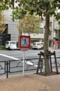 Не нужно быть знатоком японского языка, чтобы понять – переходить дорогу в этом месте запрещено, даже если очень хочется сигануть через ограждение | Япония