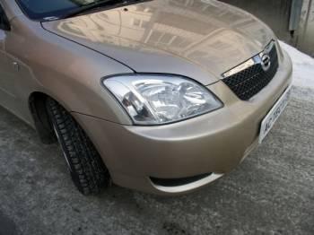Toyota corolla runx | Отличительная черта хэтчбеков Corolla — оригинальный дизайн фар (с конца 2002 года)
