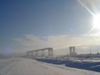 Энхалук | Новый мост ныне закончен и работает. Но мы столько лет видели его таким — построенным лишь частично!
