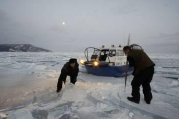 Ледовая разведка | Вездеходность аэроходов на воздушной подушке не рассчитывалась под ледяные торосы
