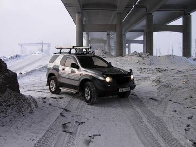 Isuzu vehicross