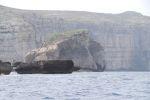 Грибная скала в бухте Дейра прославилась тем, что на ней когда-то рос редкий целебный гриб, который рыцари ценили за лечебные свойства. Гриб находился под строжайшей охраной, и тех, кто пытался его похитить, ждала смертная казнь | Мальта