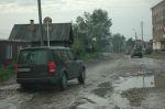 Центральная улица в Нижнеудинске | Land Rover