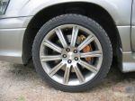 18-дюймовые диски и тормозные суппорты Brembo — штатная комплектация | Subaru Forester 2.5 Turbo STi