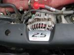 Генератор в центре моторного отсека — особенность оппозитной компоновки двигателя | Subaru Forester 2.5 Turbo STi