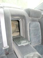 Прорезь в заднем диване позволяет провозить длинномеры | Honda Saber/Inspire