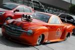 Для строительства экстремального драгстера вполне подойдет и безобидный пикап Chevrolet | SEMA Show