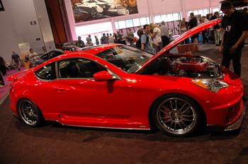 SEMA Show | Hyundai HKS Genesis Coupe. К исполнению своей продукции корейцы подходят не менее тщательно и серьезно, чем японцы и американцы