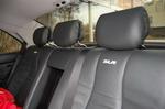 Вышивка SLR в кожаном салоне S500 — небольшой, но обязательный штрих к портрету | Mercedes-Benz S500 McLaren