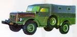 Таким мог бы быть ГАЗ-63. Во время и после войны на заводе экспериментировали с созданием почти точной копии Dodge WC. Стильная получилась бы машина | ГАЗ-63