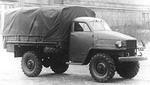Первый вариант 63-го — с отечественным аналогом кабины Studebaker US6 | ГАЗ-63