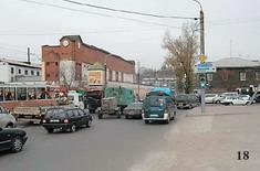 Объезд заторов по улице Баррикад