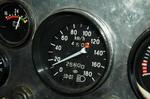 Спидометр от ВАЗ-2106 — один из немногих заимствованных интерьерных элементов | Урал 357Д