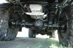 Глядя на мускулистое днище этой машины, сомневаешься, что именно «Урал» должен бояться кочек и камней, а не наоборот | Урал 357Д