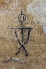 Местное население верит, что хозяин Сахюртэ может скрыть наскальные рисунки, если пришедшие на них посмотреть не угодят ему | Тажеранские степи
