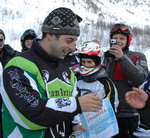 Абсолютный победитель гонок Илья Черников