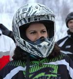 Единственная в гонках девушка, Вера Новикова, сумела занять 3 место в экстремальном этапе «Техника»