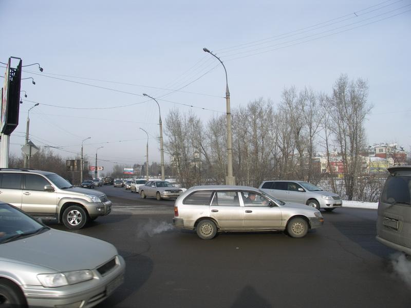 Маратовская развязка в Иркутске