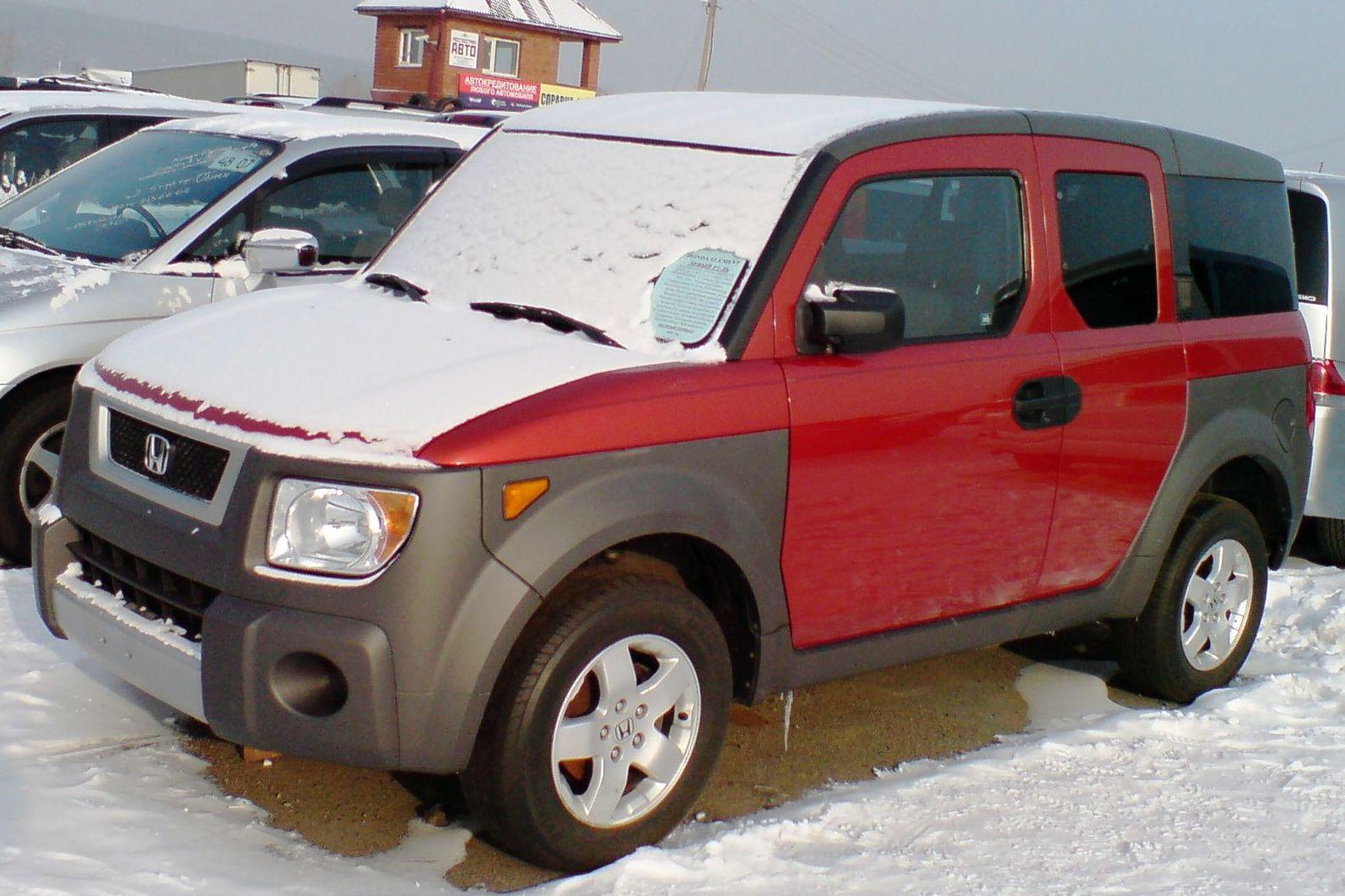 Honda Element в Иркутске