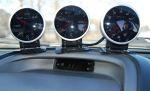 Дополнительные приборы — обязательный атрибут автомобиля, силовая начинка которого работает в «не совсем» штатном режиме | Toyota Caldina Black Fire