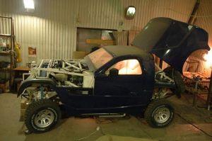 Ралли-рейдовый Super Production | Зима 2008-го: последние приготовления перед первыми ходовыми испытаниями