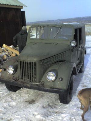 ГАЗ-69 «БОЛИВАР» | Таким был ГАЗ-69 на момент покупки. Унылый, наполовину самодельный, зато с уазовской силовой начинкой