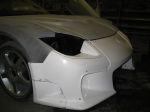 Все элементы body-kit требуют тщательной подгонки по месту будущей дислокации. Модификация головной светотехники — вопрос отдельный | Mazda RX-7