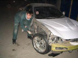 Mazda RX-7 | Чтобы создать что-то прекрасное, нужно сначала уничтожить все, что этому мешает. И молоток — одно из главных орудий на начальных этапах строительства шоу-кара