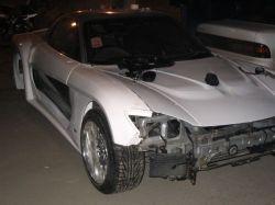 Mazda RX-7 | С этого ракурса автомобиль смотрится совершенно естественно, словно такая ширина и обводы были всегда