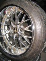 18-дюймовые диски Narpe — очень похожи на те, в которые была обута «киношная» машина | Mazda RX-7