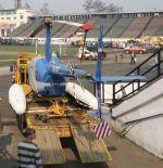 На этот раз вертолет прибыл на эвакуаторе. Что будет дальше? | БайкалМоторШоу-2008