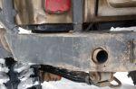 Вывод выхлопной трубы в силовой бампер не только эстетическое решение. Как и целостность всей магистрали, такое высокое ее расположение позволяет сократить риск попадания выхлопных газов в салон, если машина находится в глубоком броде-болоте. А уж законопатит | Иркутск — Порт Байкал