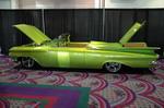 Chevrolet Impala Convertible 1959 года был не меньше и не беднее, чем Cadillac Eldorado, но заметно дешевле, благодаря чему семейство Impala стало самым покупаемым из полноразмерных автомобилей.  | SEMA Show: ретро