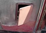 Боковые лючки для дополнительной вентиляции. Уже в те времена комфорту уделялось много внимания, любыми доступными способами | Dodge DA Sedan