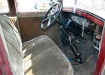 Рычаги КП и стояночного тормоза выглядят простецки, как у нашего ГАЗ-69, зато приборы выполнены стильно | Dodge DA Sedan