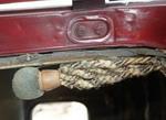 Плетеная рукоятка, возможно, не самое удобное средство держаться, зато каков шарм! | Dodge DA Sedan