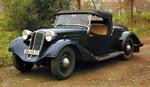 Это — одна из редких фотографий оригинального исполнения автомобиля | Tatra 57A Sport